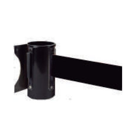 Soporte Pared Acero Inoxidable Con Cinta Negra